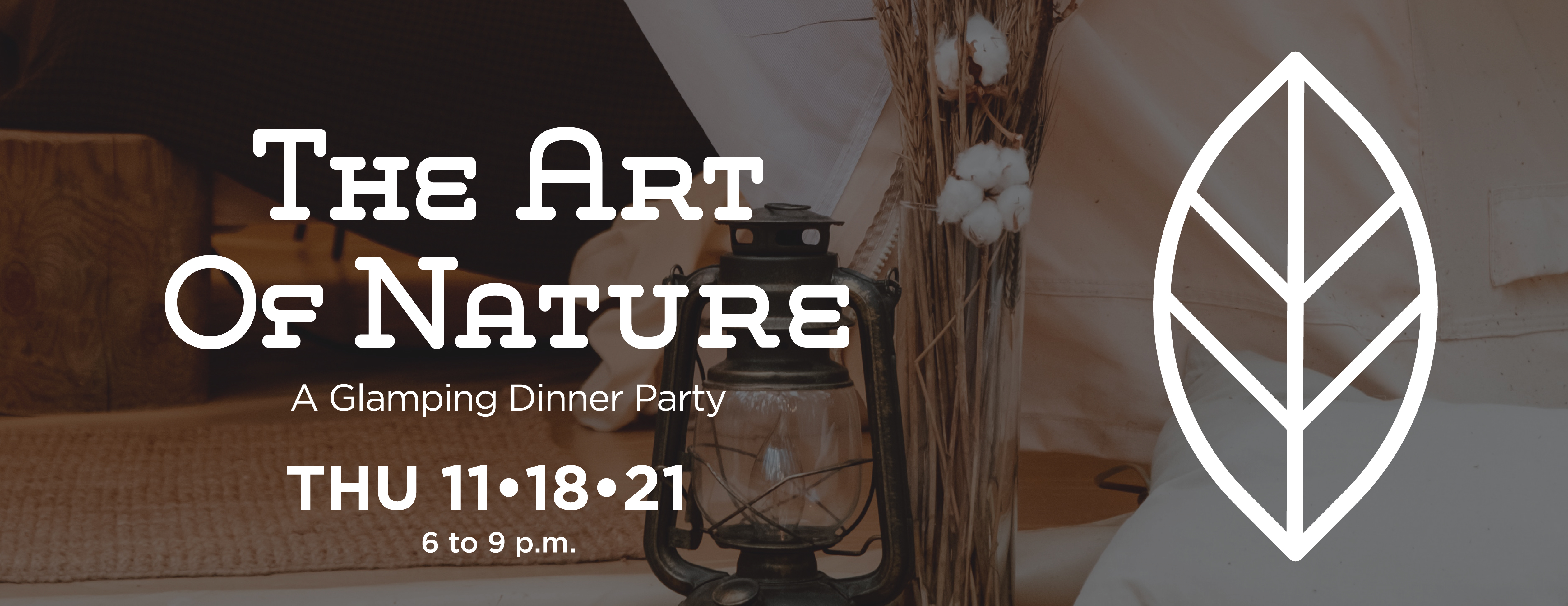 The Art of Nature: A Glamping Diner Party