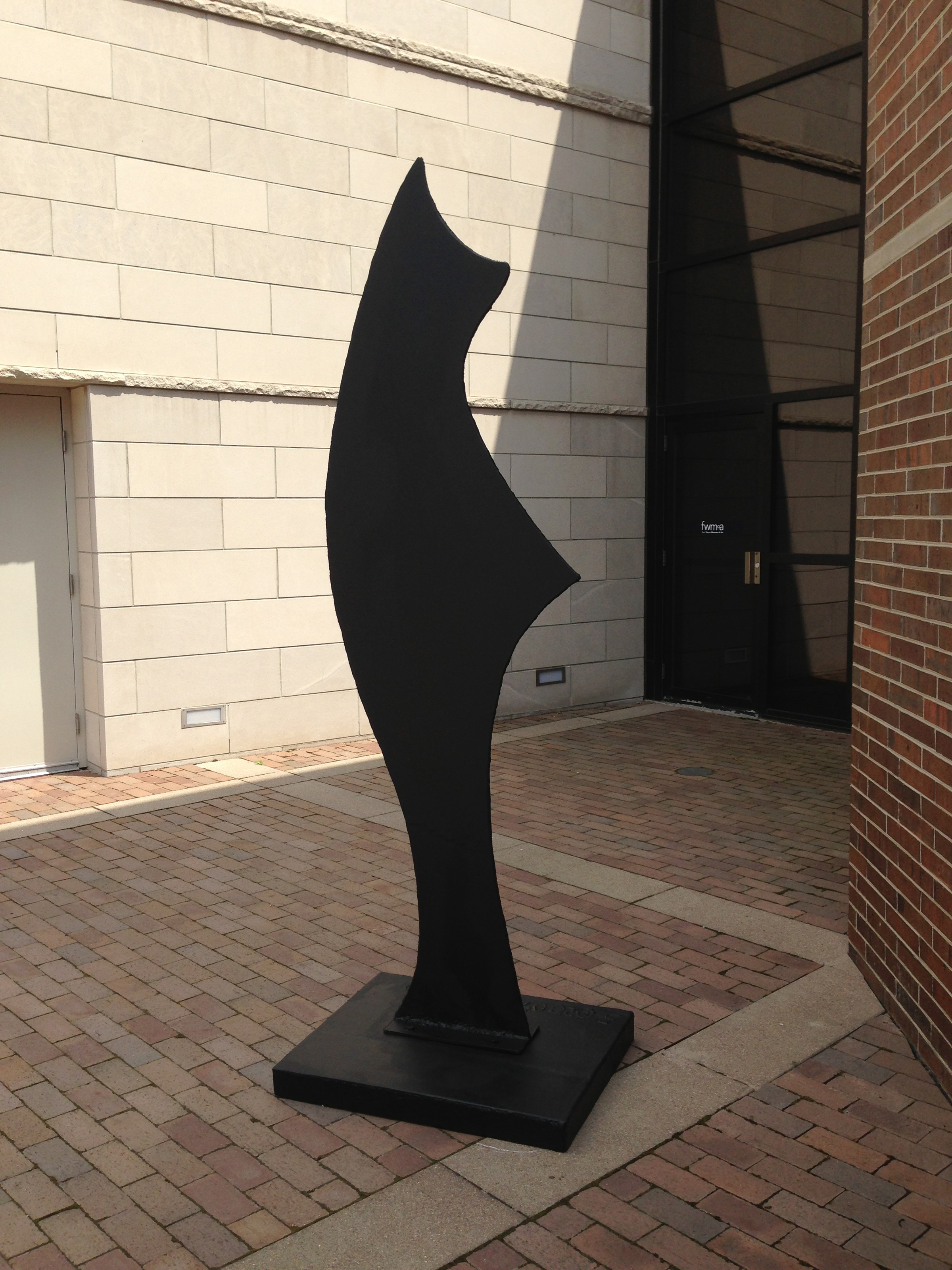 Sentinel Sculpture #5 in welded steel