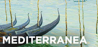 Mediterranea exhibition image of boats