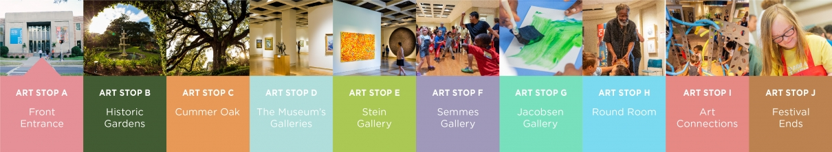 Image of all of the art stops to come in the Arts4All virtual festival